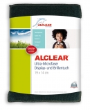 ALCLEAR Displaytuch anthrazit, Brillentuch 19x14 cm cm ,Art. 950003a